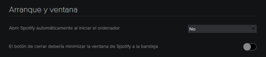 Spotify preferencias