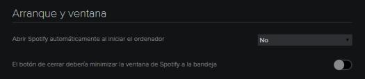 Spotify preferencias