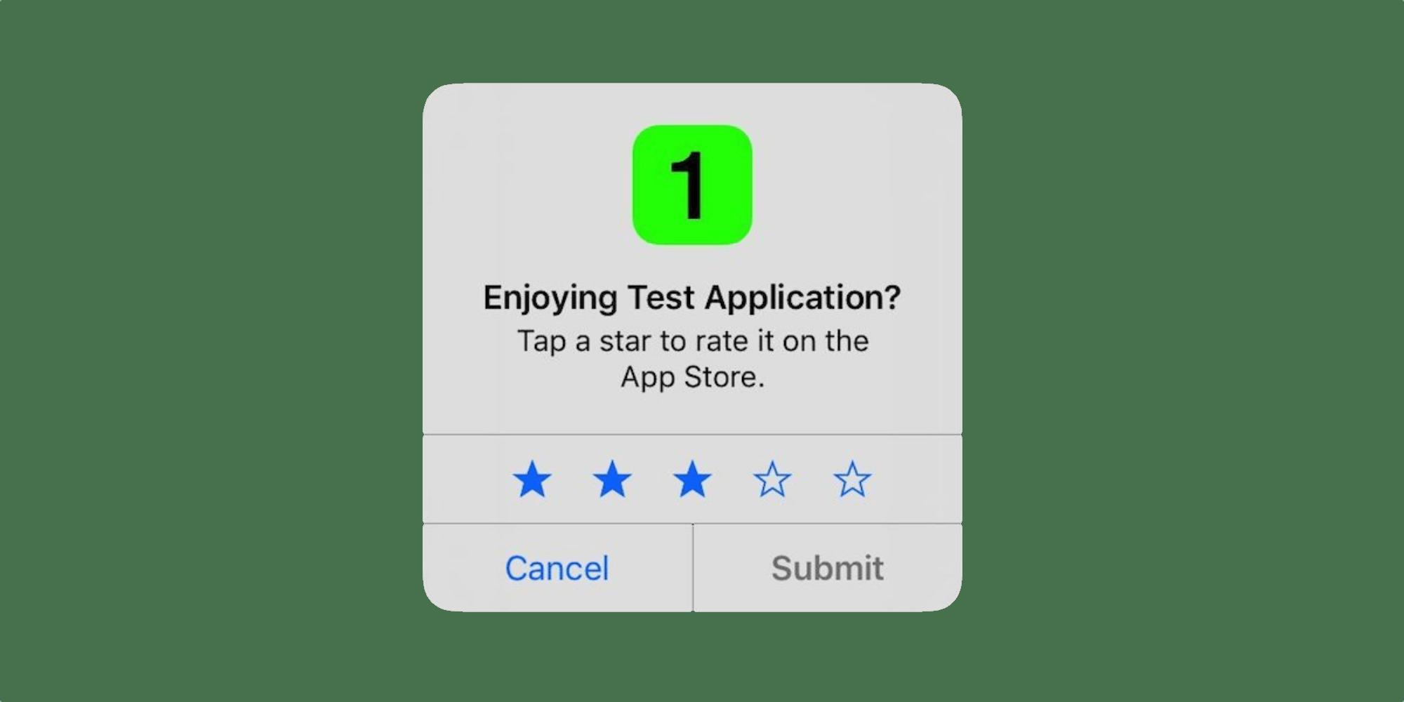 Valoración en app Hero
