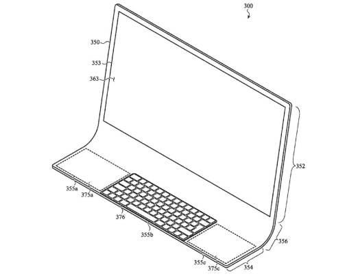 iMac Patente Teclado