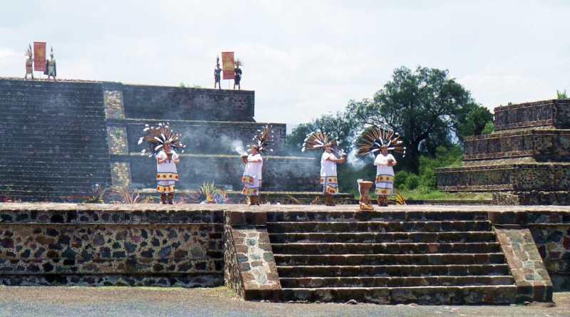 Teotihuacán lentamente recupera visitantes