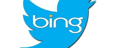 twitter y bing