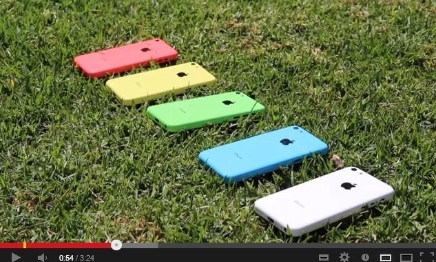 el nuevo iphone 5c colores