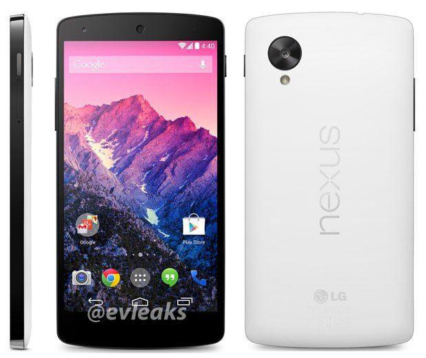 características del Nexus 5