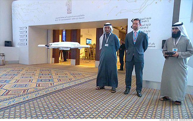 Dubai UAE drones
