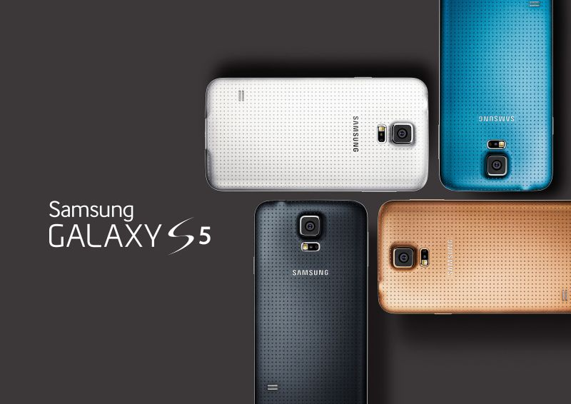 samsung s5 colors colores