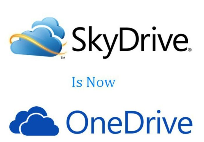 skydrive is now onedrive