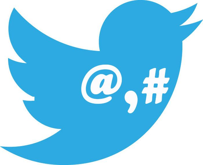 twitter arrobas y los hashtags