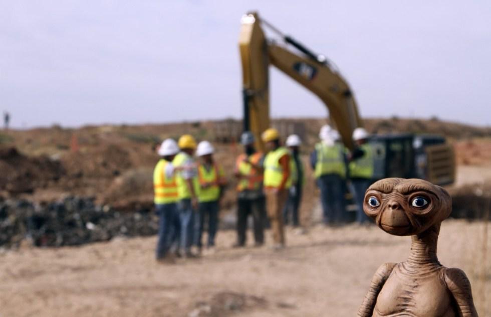 copias del videojuego de E.T