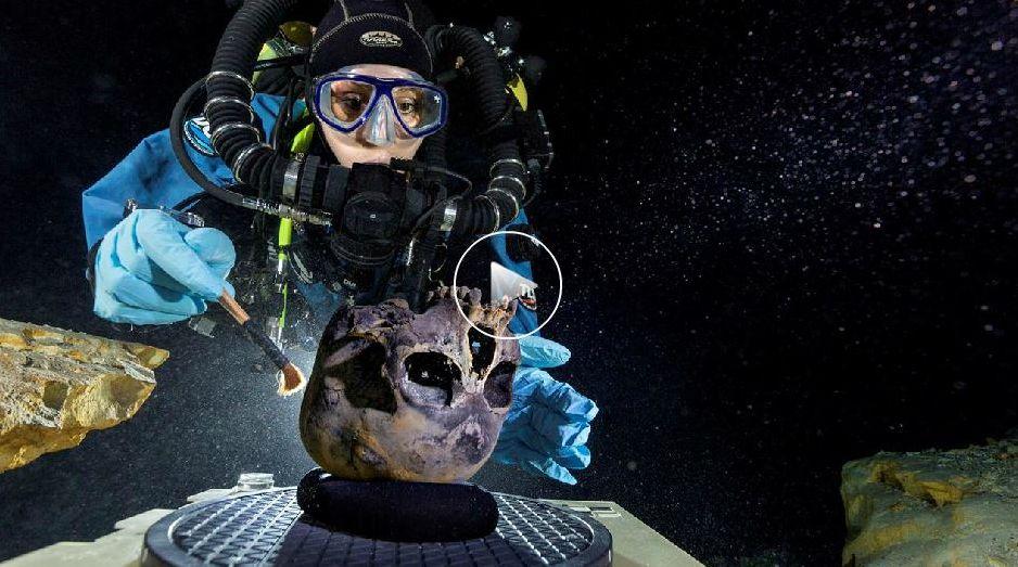 esqueleto mas antiguo de America