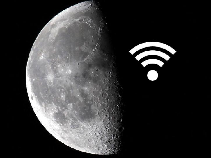 WiFi en la Luna