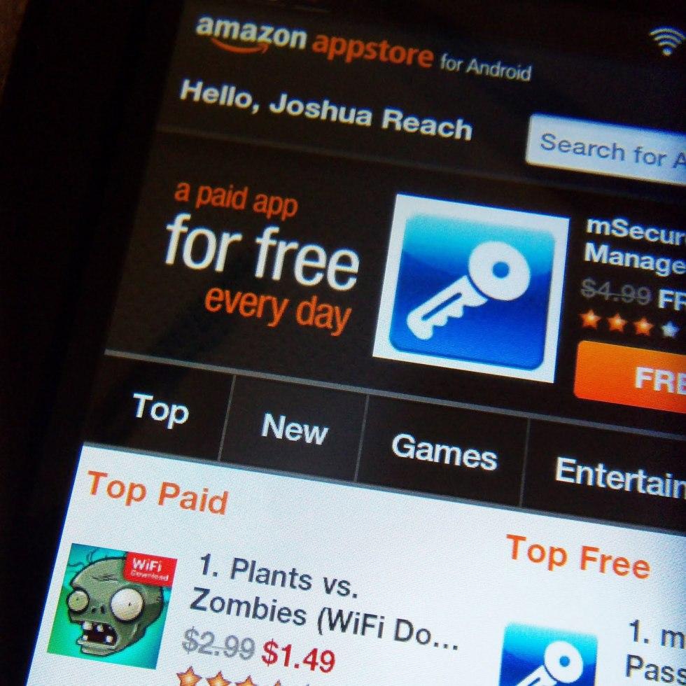 Amazon en pelea legal por su app store