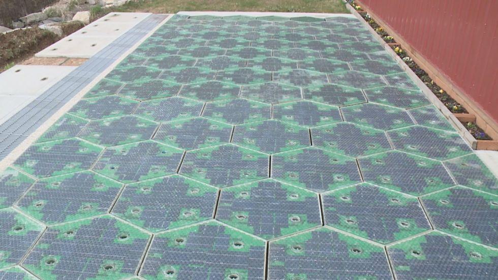 Paneles solares para carreteras-nueva fuente de energía