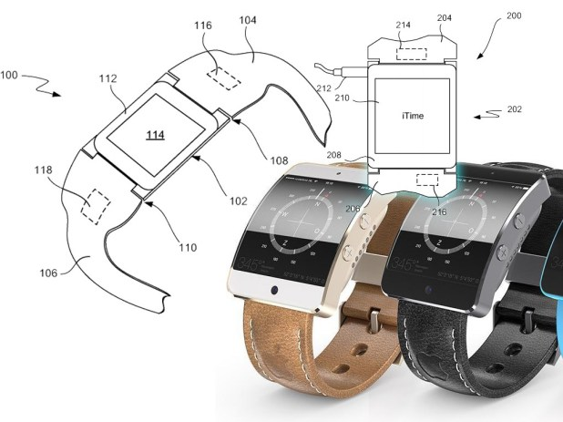 iWatch-Apple-iTime-patente