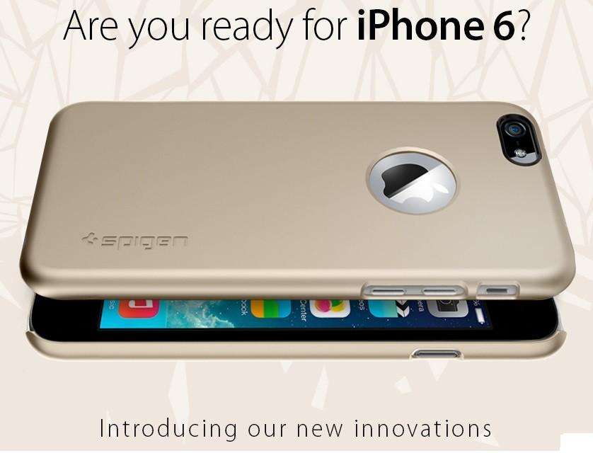Fundas para el iPhone 6 Spigen