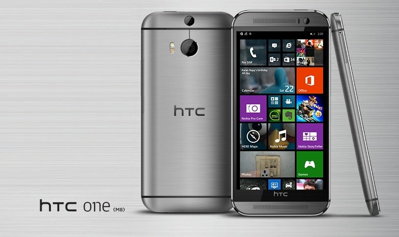 HTC presentará su modelo One M8_ Windows Phone