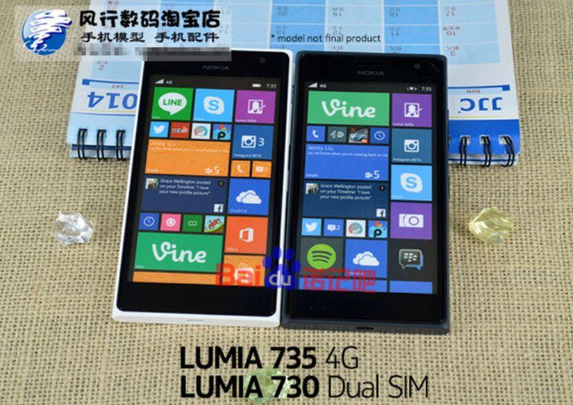 Lumia Microsoft 735-730