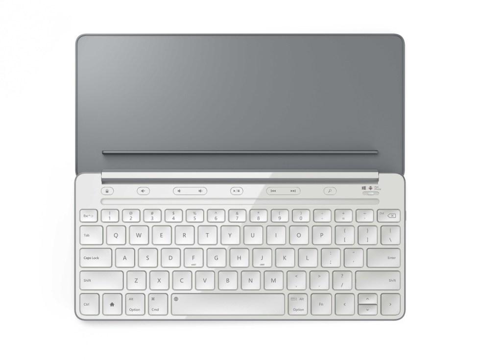 Microsoft revela su nuevo teclado universal