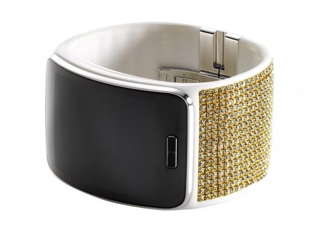 Samsung Gear S, el smartwatch con cristales Swarovski