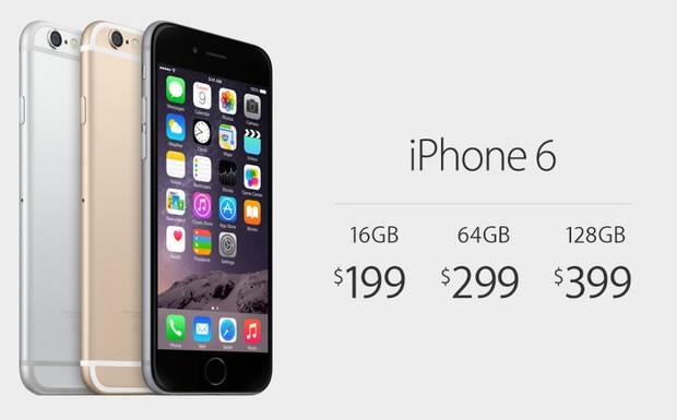 iphone 6 precio