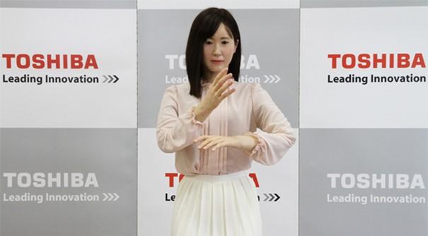 Toshiba-robot-social