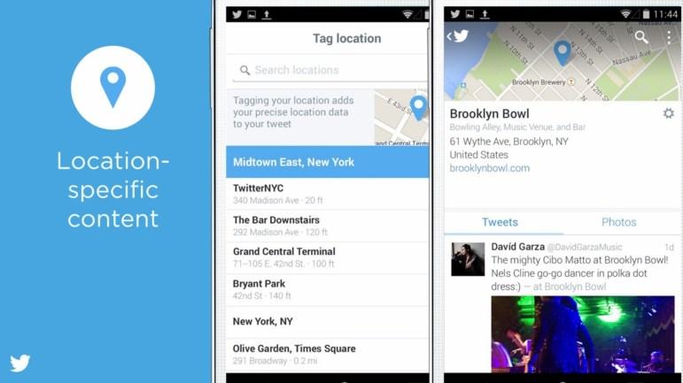 Los tweets basados en ubicación promoverán conversaciones locales. Imagen: Business Insider