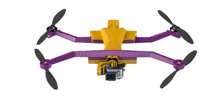 AirDog está diseñado para grabar desde el aire carreras de ciclistas o torneos de surf. Foto: AirDog