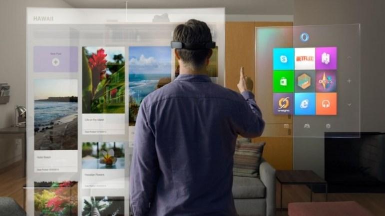 microsoft hololens windows 10 hologramas realidad aumentada