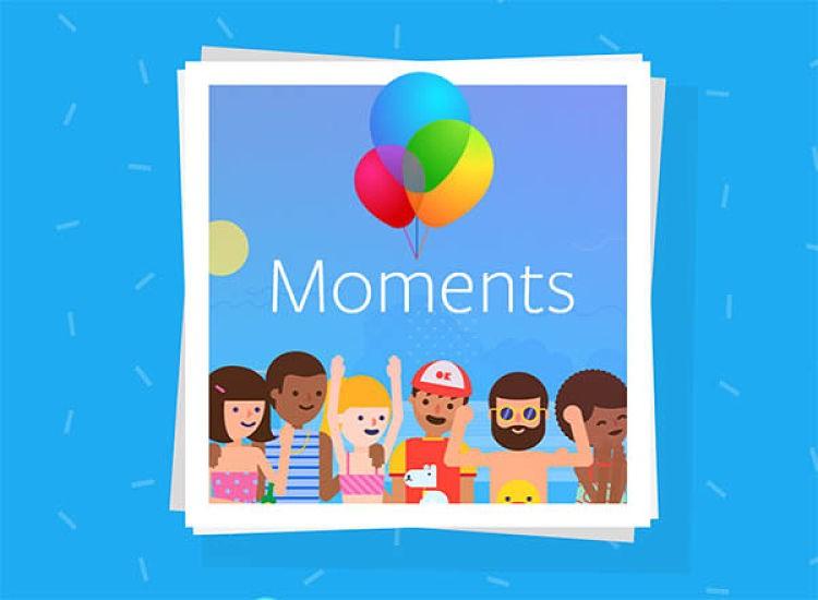 Moments, nueva app de Facebook para administrar imágenes