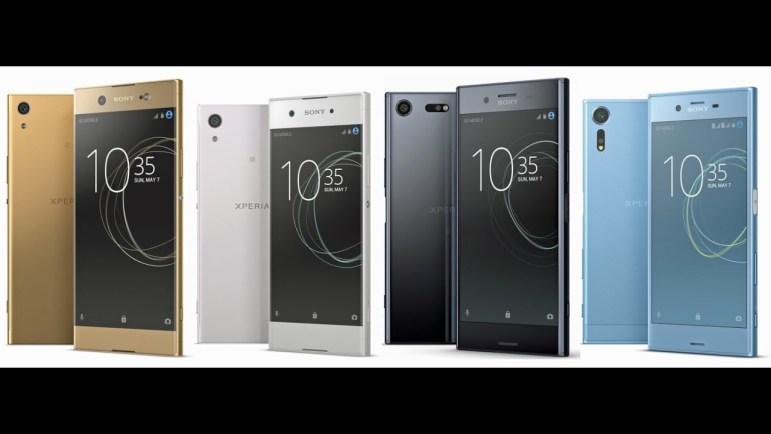 Estos son los 4 nuevos smartphones de Sony en el #MWC2017