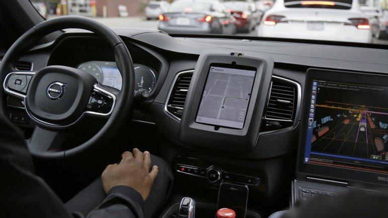 Uber coches autonomos