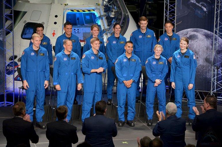 Clase 2017 de candidatos a astronautas