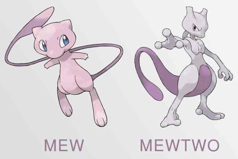 mew-mewtwo