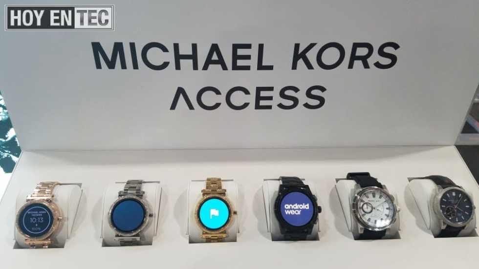 Relojes inteligentes vienen de la moda para debutar en el CES #CES2018@MichaelKors@KateSpadeNY@SkagenDenmark
