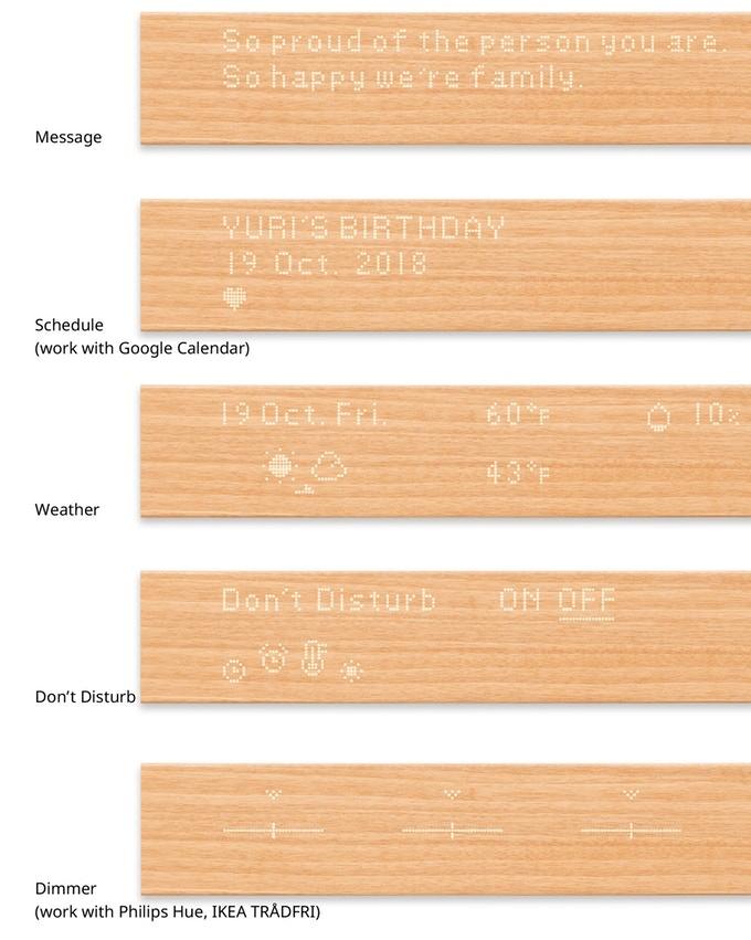 Mui panel de madera inteligente que decora el hogar-2