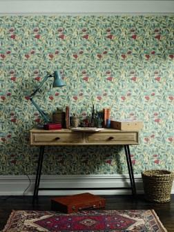 William Morris Arbutus Wallpaper