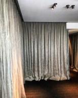 Wandvorhänge für Euroboden Showroom in München
