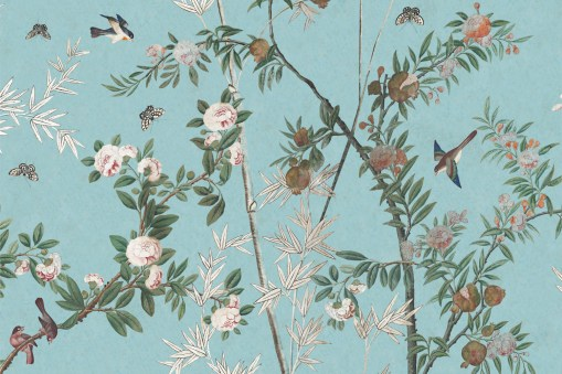 Iksel Decorative Arts Chinoiserie Wandpanorama - Hoyer & Kast Interiors