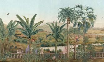 Iksel exotisches Wandpanorama - Hoyer & Kast Interiors München