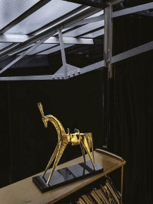 Maison Charles Agostini Skulptur