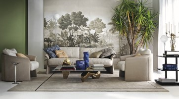 Misha Wallpaper The Spice Route - Hoyer & Kast Interiors