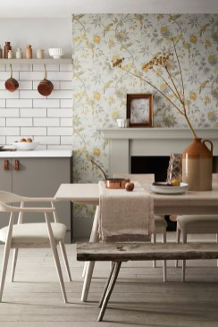 Little Greene Blumentapete - Hoyer & Kast Interiors