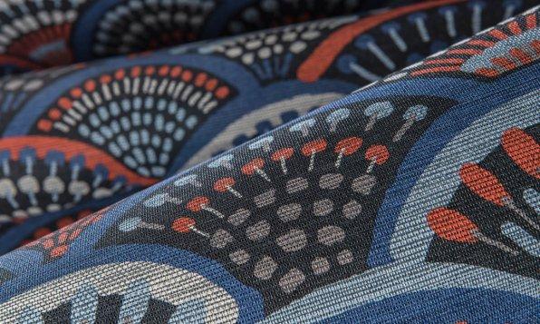 Arte Wallcoverings Peacock Tapete Detail