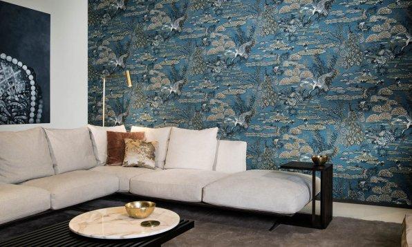 Arte Walls Chinoiserie Tapete Lotus
