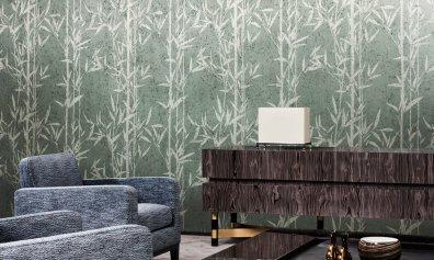 Arte Walls Natura Metallic Tapete Bambus