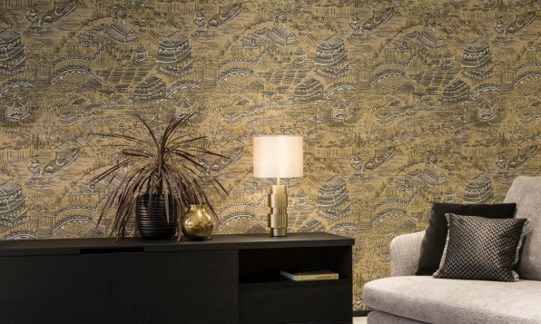 Arte Walls Scenery - Hoyer & Kast Interiors
