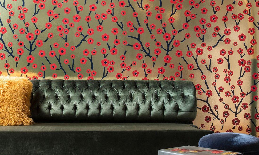Flavor Paper for Arte Sakura Metalltapete - Hoyer & Kast Interiors