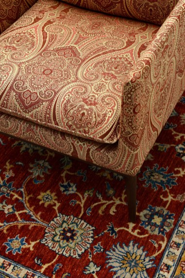 Lelievre PARTENAIRE Paisley Polsterstoff - Hoyer & Kast Interiors