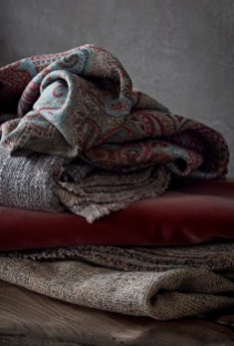 Del Le Cuona Paisley Stoffe - Hoyer & Kast Interiors