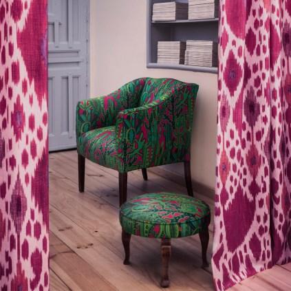 Gaston y Daniela Ikat Design - Hoyer & Kast Interiors